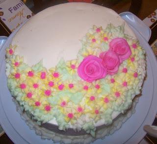 Suburban Tiny Garden Diary: Cake Decorating Class #3