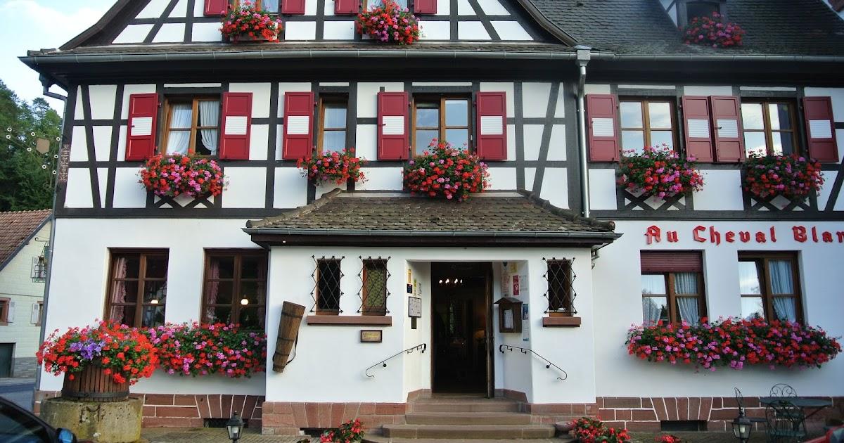 bonjour alsace restaurant au cheval blanc niedersteinbach. Black Bedroom Furniture Sets. Home Design Ideas