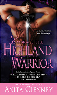 Review & Giveaway: Embrace the Highland Warrior