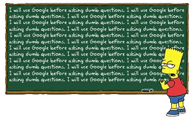 google simpsons humour