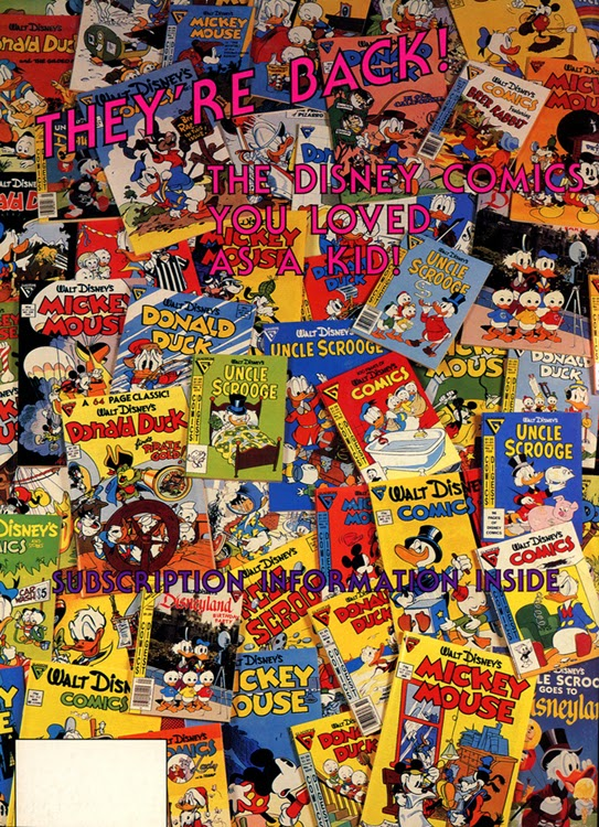 Disney Comic Books Walt Disney Comic Books to