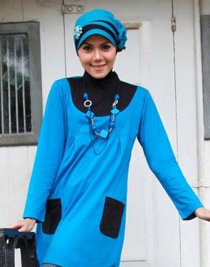 Model Baju Blus Muslim Zenitha 27 a