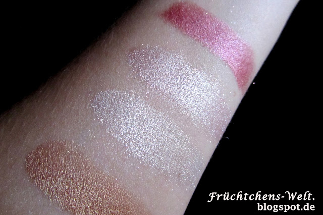 essence Colour Arts Farbpigmente SMELL THE CARAMEL, FAIRY DUST, COTON CANDY, STRAWBERRY SMOOTHIE