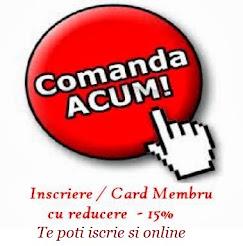 Comanda Online sau intreaba-ne prin Telefon