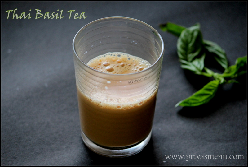 Thai Basil Tea
