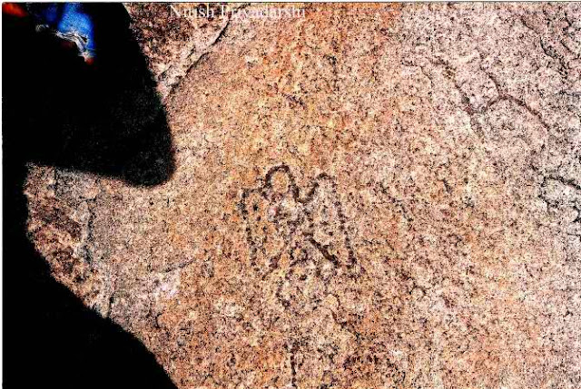 India: Footprints in Rock Evidence of Ancient People From Sky?