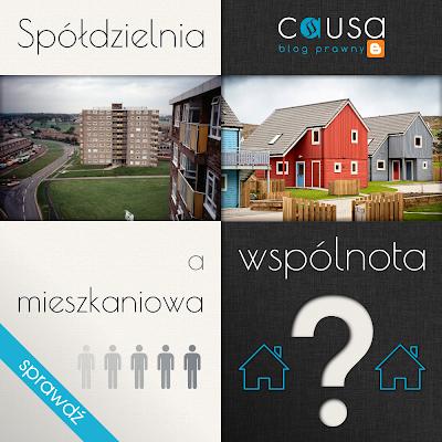 Spółdzielnia a wspólnota mieszkaniowa