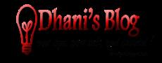 Dhani's Blog