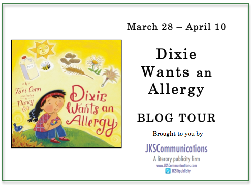 dixie wants an allergy tour banner
