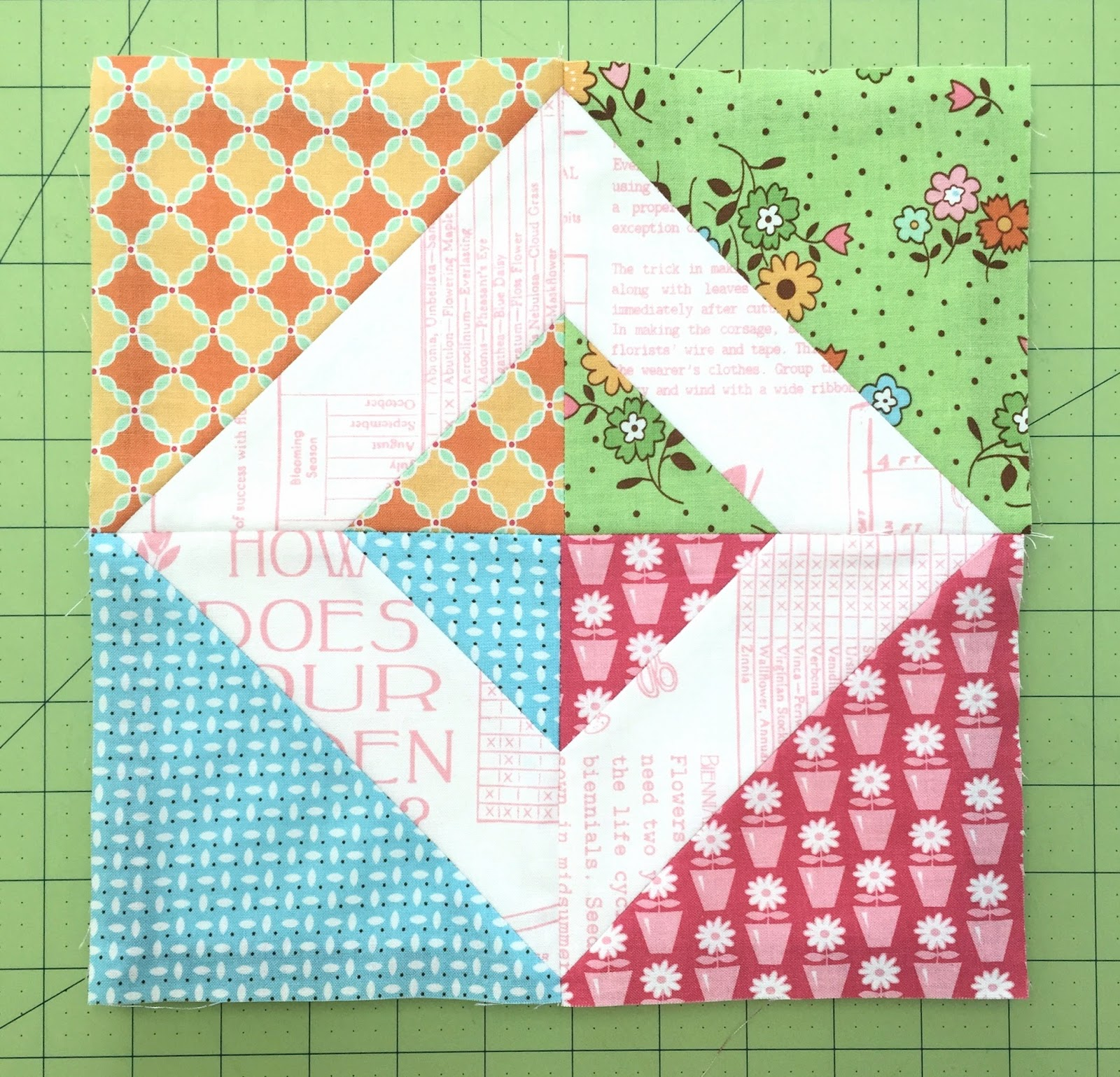 Bee In My Bonnet: My Flower Box Quilt Block Tutorial and Sew Along!!! : flower box quilts - Adamdwight.com