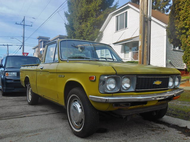 Seattle S Parked Cars 1974 Chevrolet Luv
