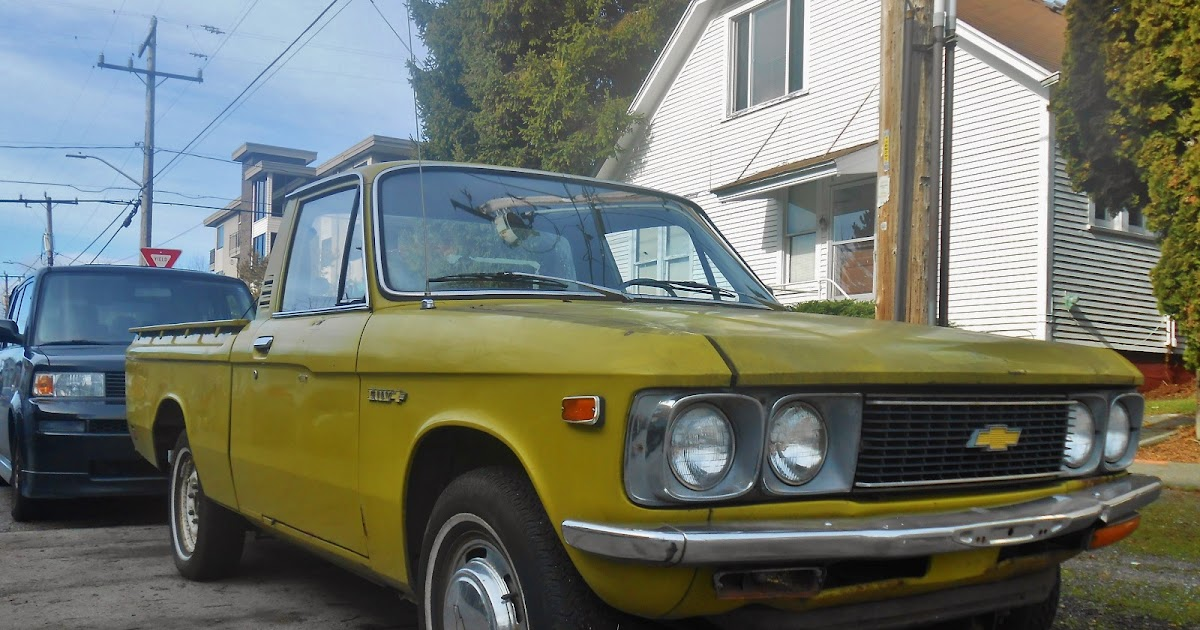 Seattles Parked Cars 1974 Chevrolet Luv