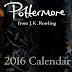 Pottermore lança como surpresa de Natal um calendário de 2016!