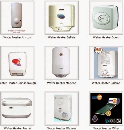 jual water heater listrik aman
