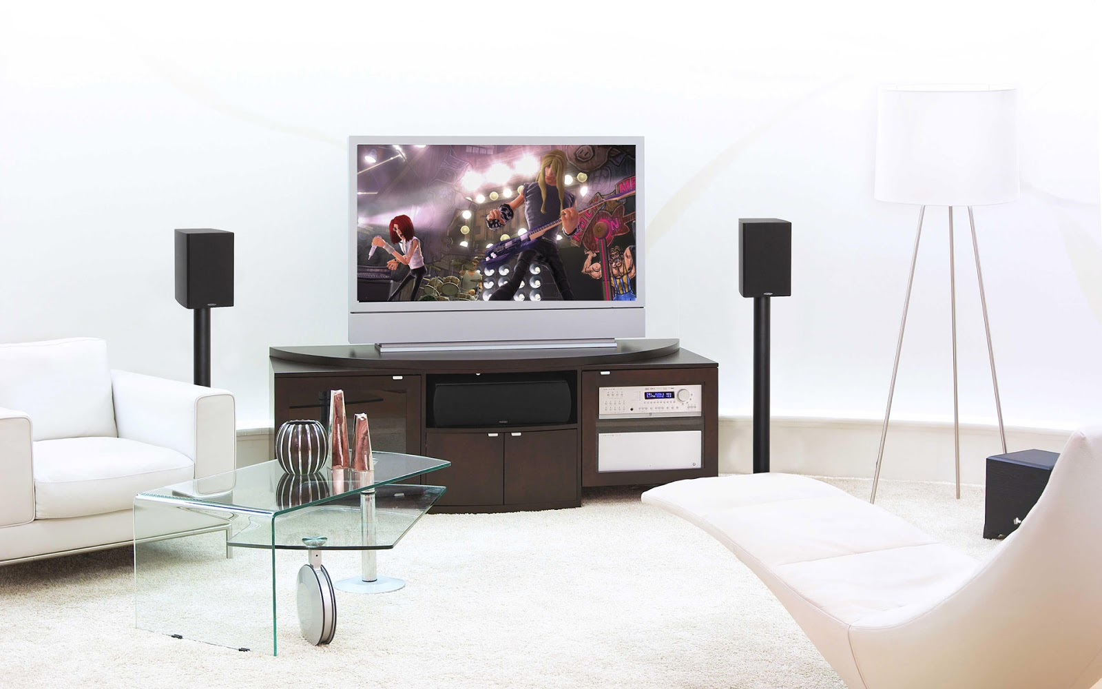 Luxury home theater for Decor systems