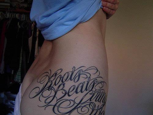 Calligraphy Tattoos