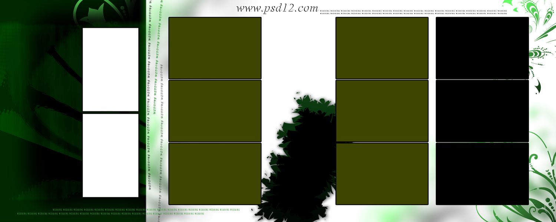 12x30 PSD Karizma Album Background and Templates Designs