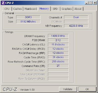Overclocking Corsair Dominator GT CMGTX7 DDR3 Memory picture 5