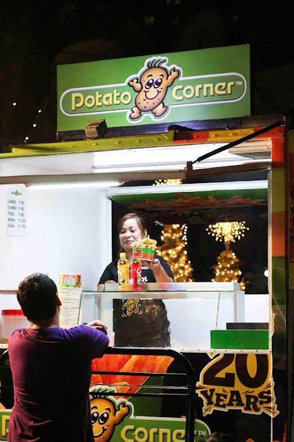 Potato Corner Food Truck at Cucina Andare