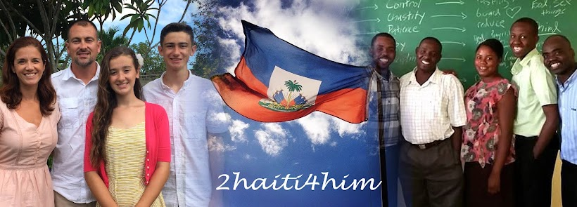 Heckmans in Haiti