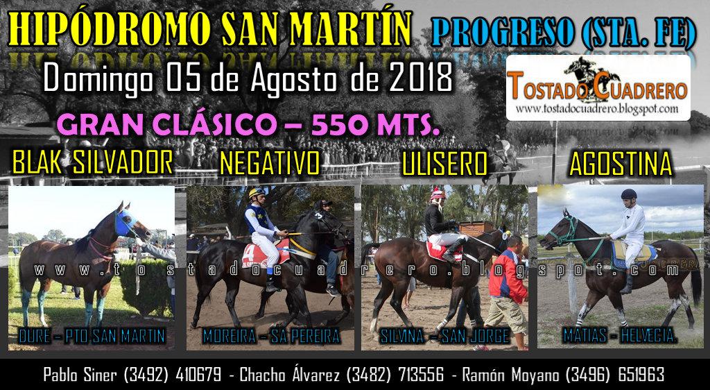 CLASICO 550 PROGRESO