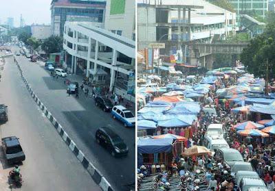 Foto Pasar Tanah Abang Sesudah Relokasi