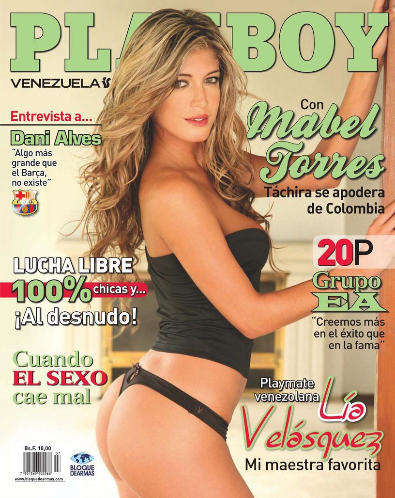 Infartantes Fotos Mabel Torres Desnuda En Playboy Venezuela