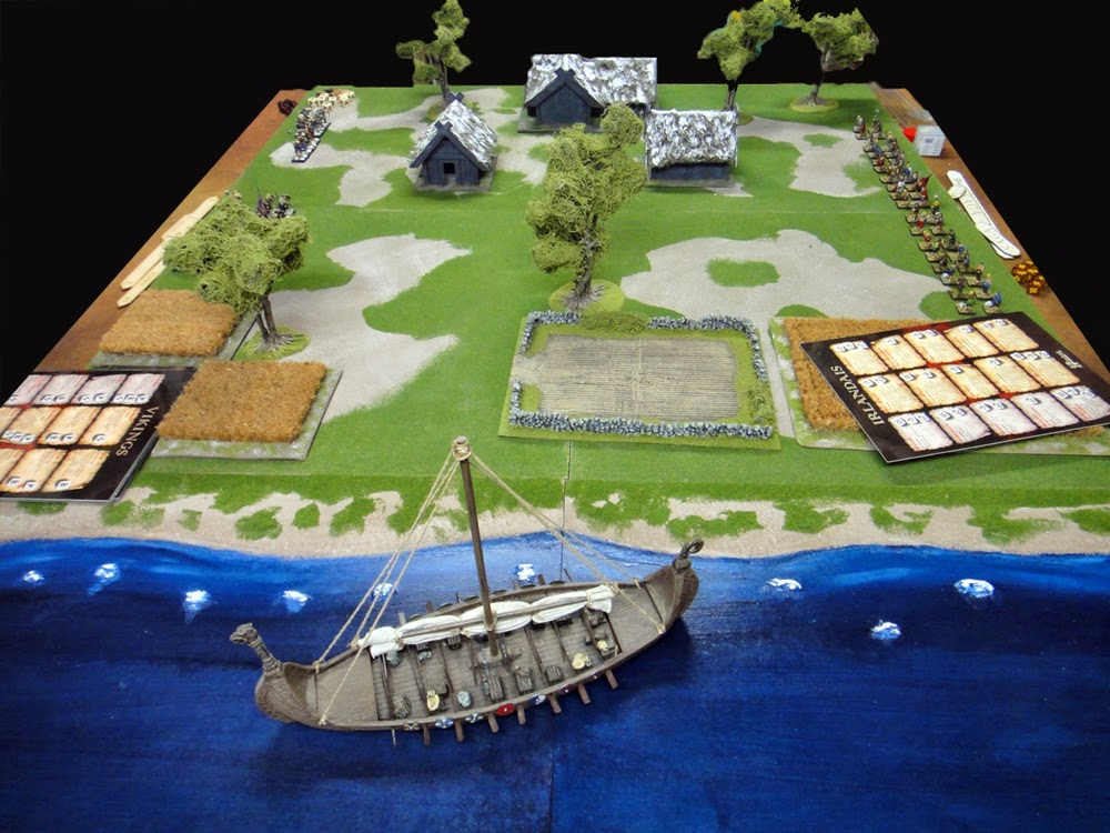 Raid irlandais en terre Vikings 1
