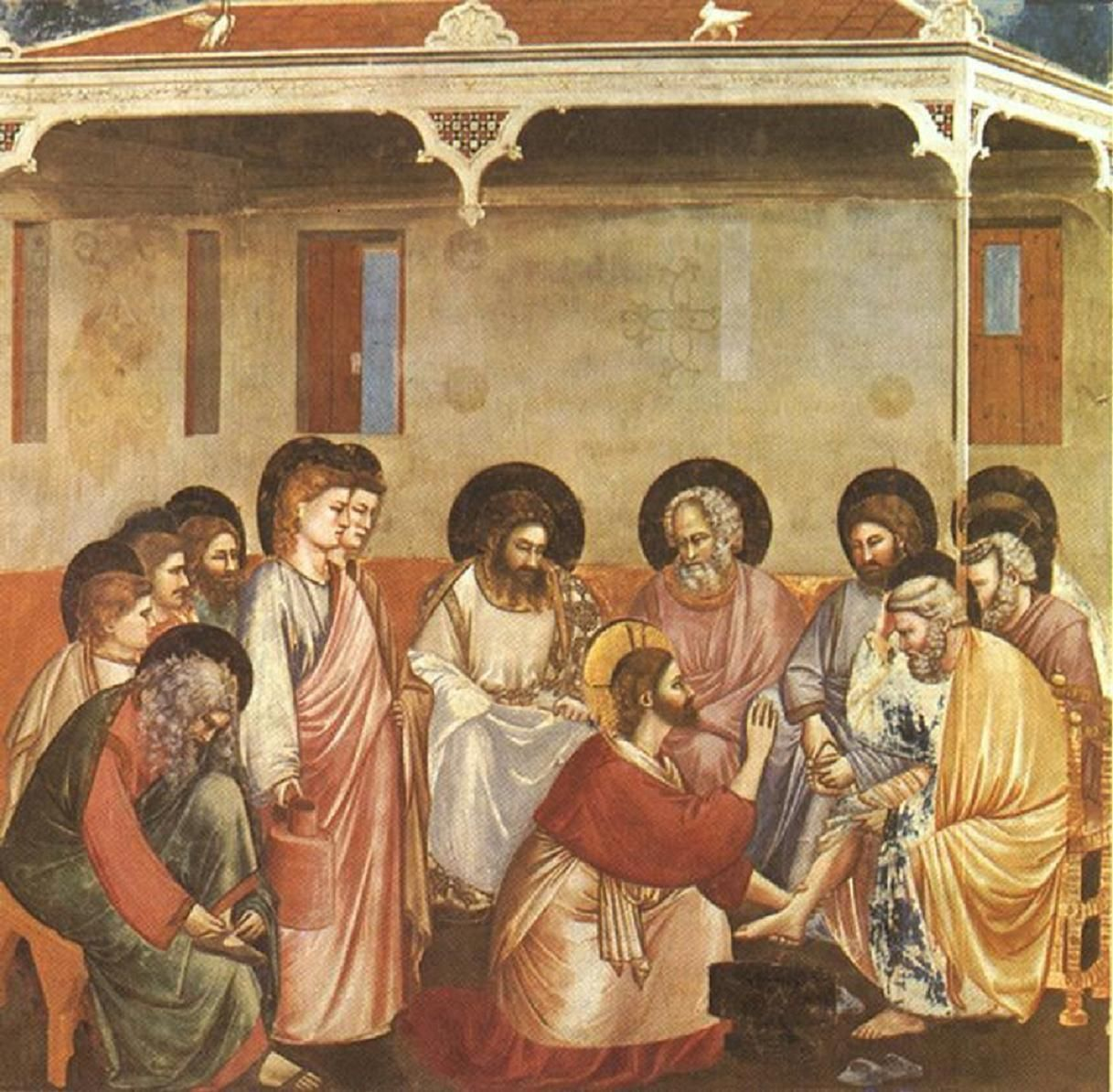 Relationships Love Language ~ JESUS Enters Jerusalem ~ Holy Week ~ Jesus Washes the Disciples' Feet