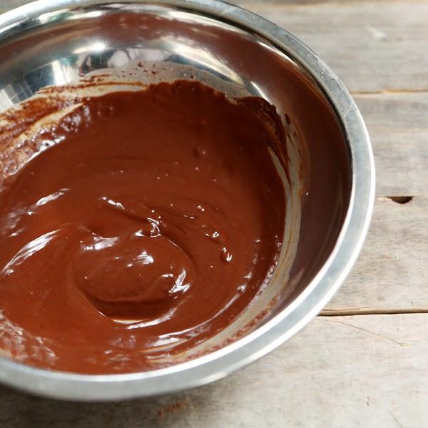 vegan chocolate ganache