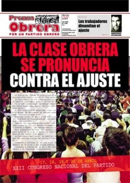 Prensa Obrera Nº 1309