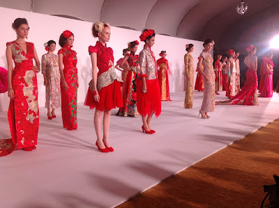 Guo Pei show at Digital Fashion Week Singapore