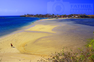 pulau pasir, pulau maringkik, gili sunut, gili bembek, pulau tak berpenghuni