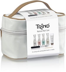 Review of the Trind perfect system for healthy nails at home kit.