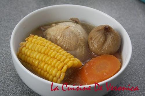 無花果粟米紅蘿蔔煲鵪鶉, 鵪鶉, La Cuisine De Veronica, V女廚房, Mrs.T