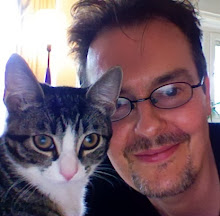 The Author and his cat.