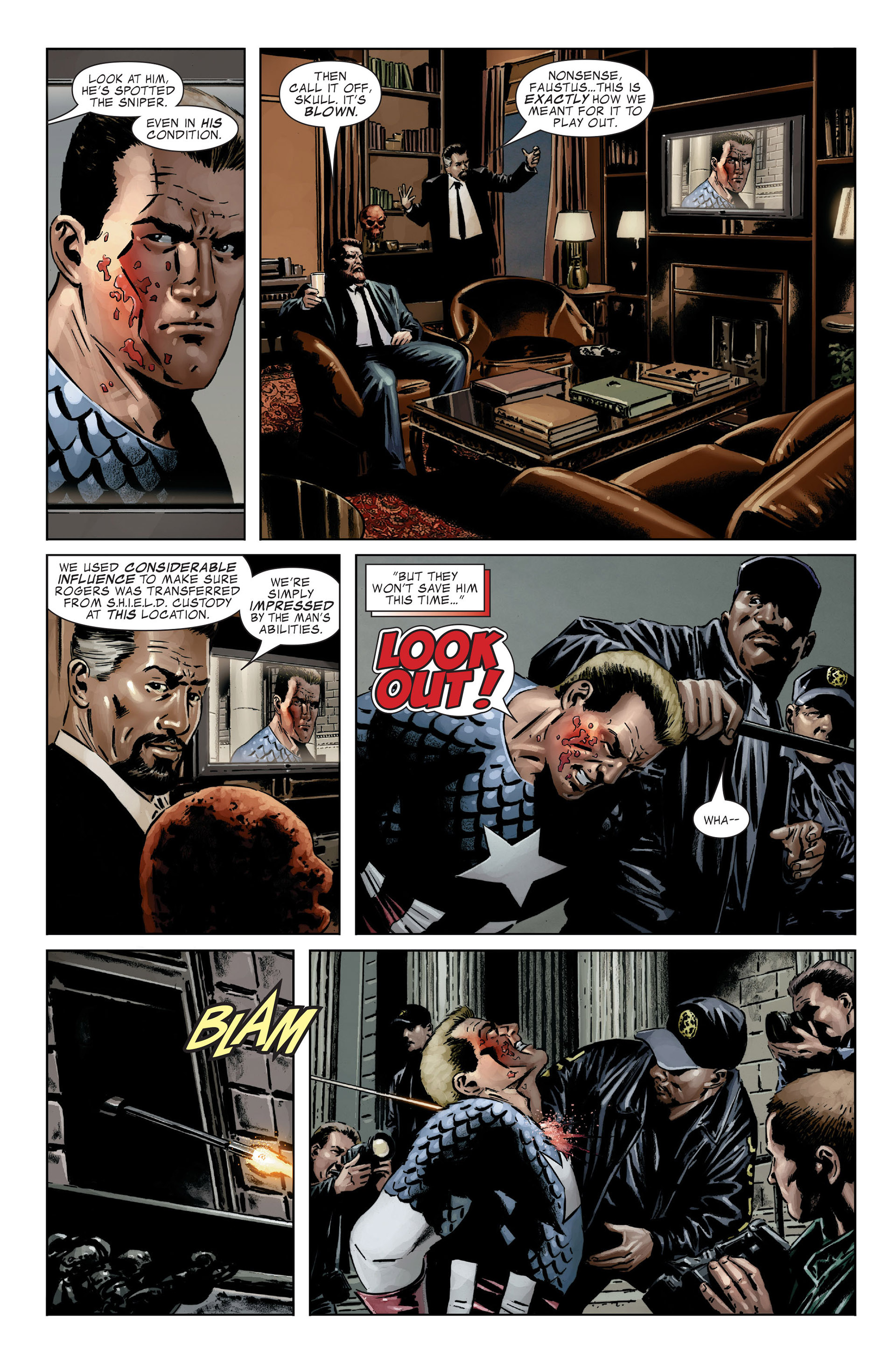 Captain America (2005) Issue #25 #25 - English 16