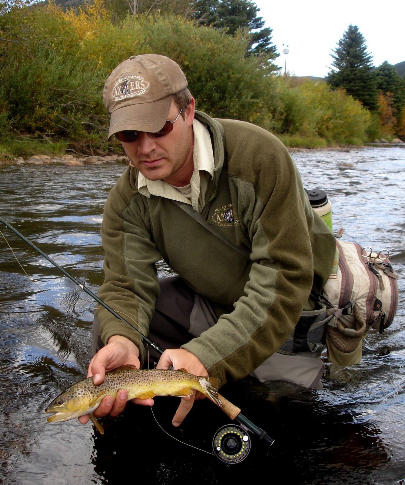Colorado fly fishing reports big thompson river october for Colorado river fly fishing