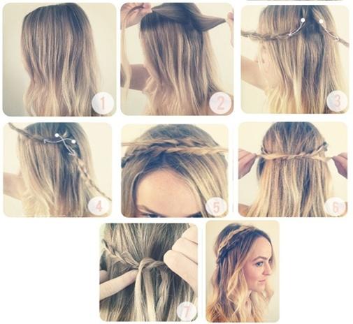 Peinados A Lo Loco Peinados Sencillos