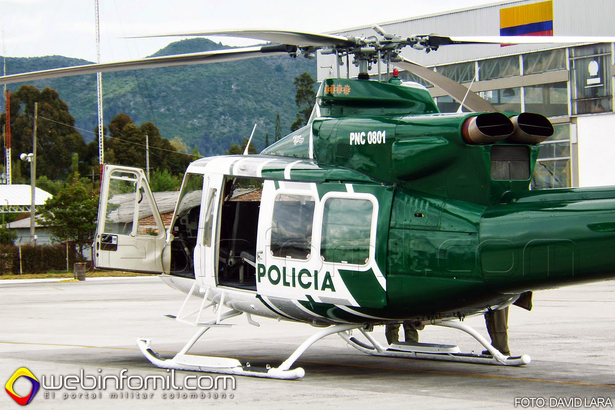 Policia Colombia PNC-0801 Bell 412