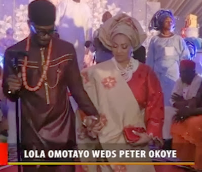 peter okoye wedding video