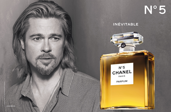 Brad Pitt Chanel No. 5 ad 2012