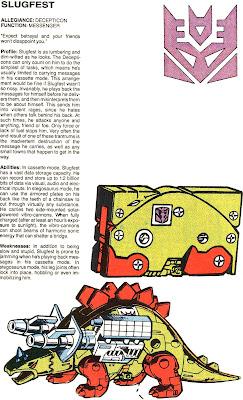 Slugfest (fichas transformers)