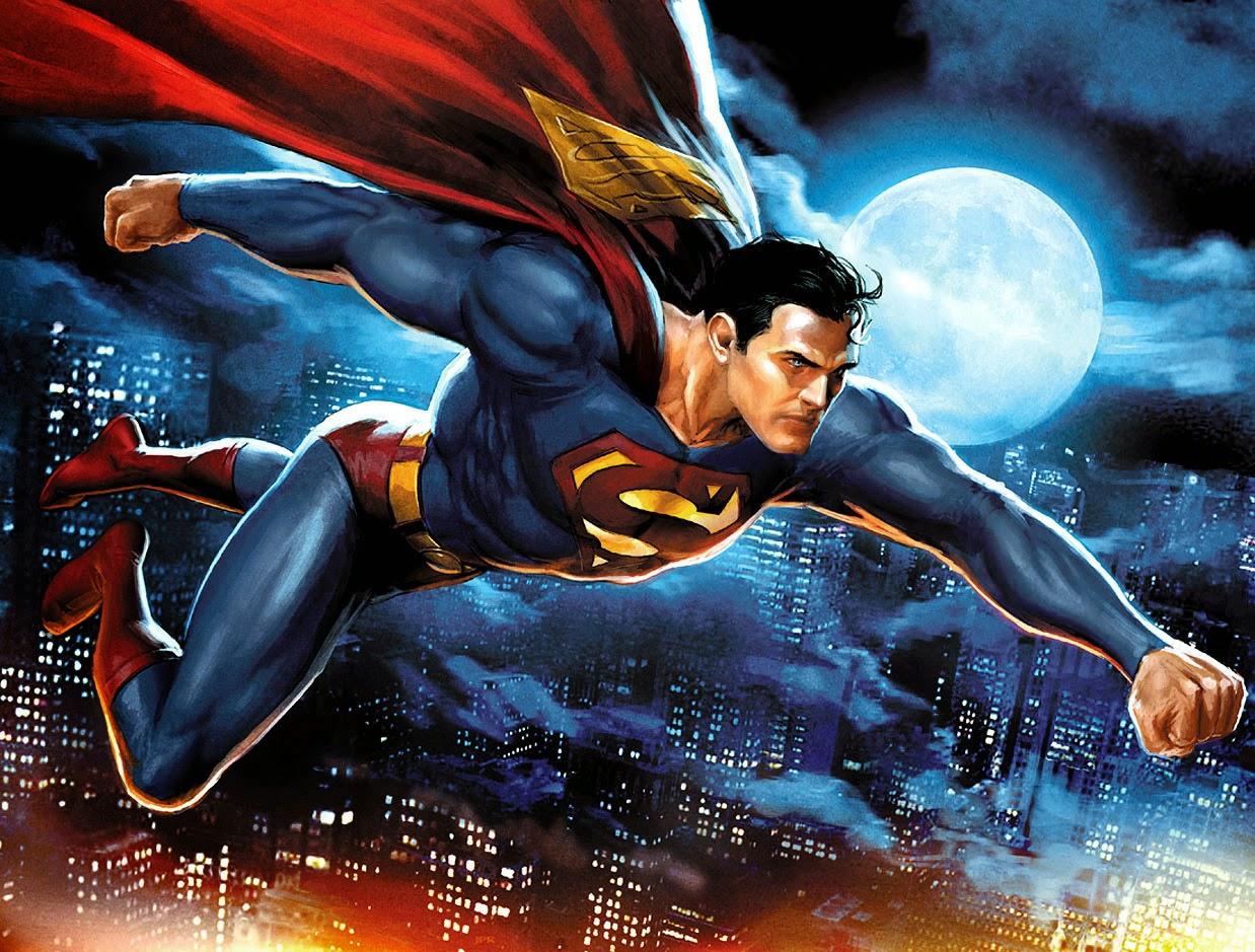 Superman Cartoon Wallpaper Film Animation Cartoon Hd
