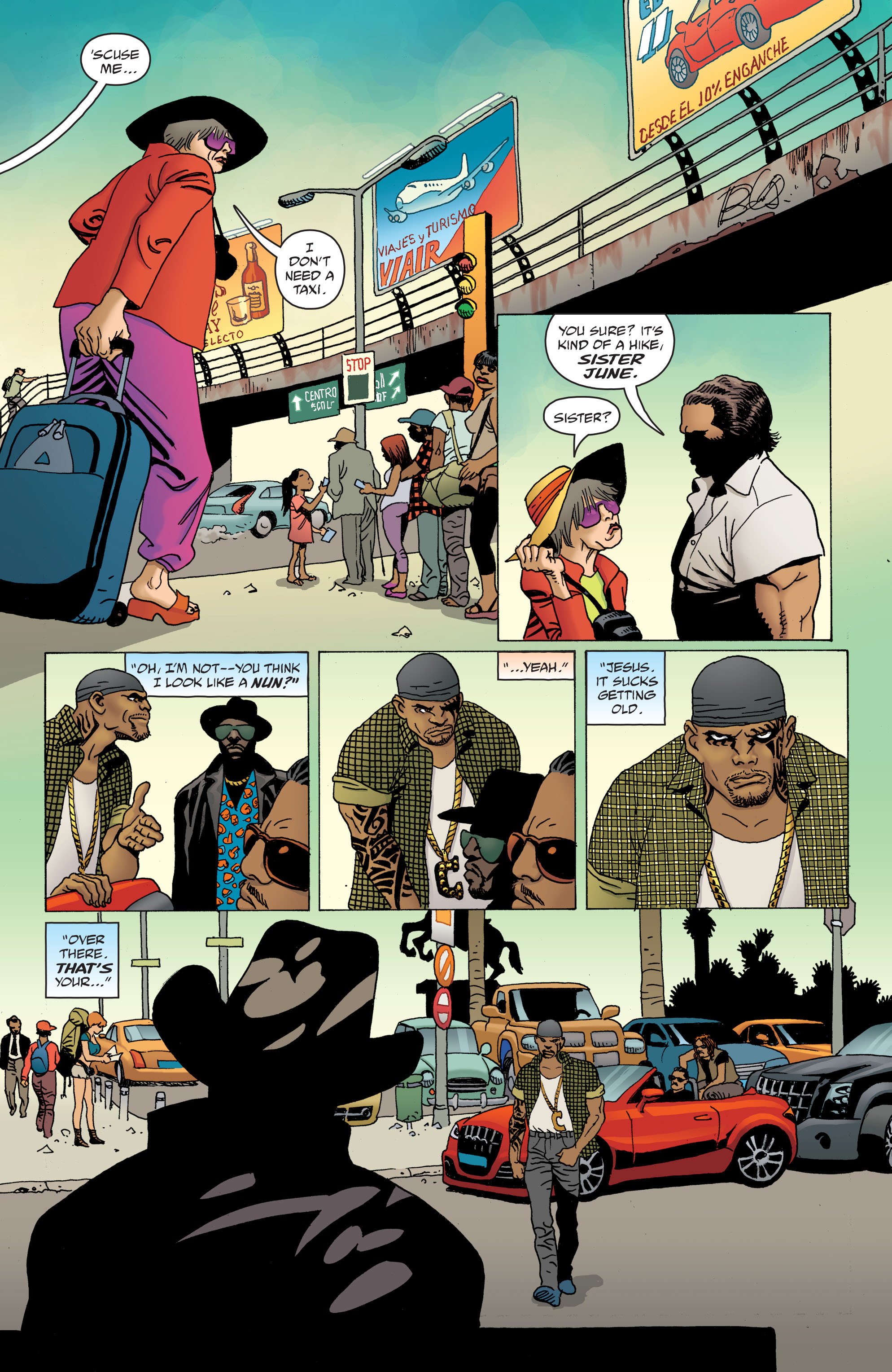 100 Bullets: Brother Lono Full Page 29