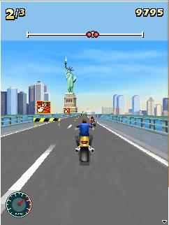 Né tránh Moto Racing Fever 3D