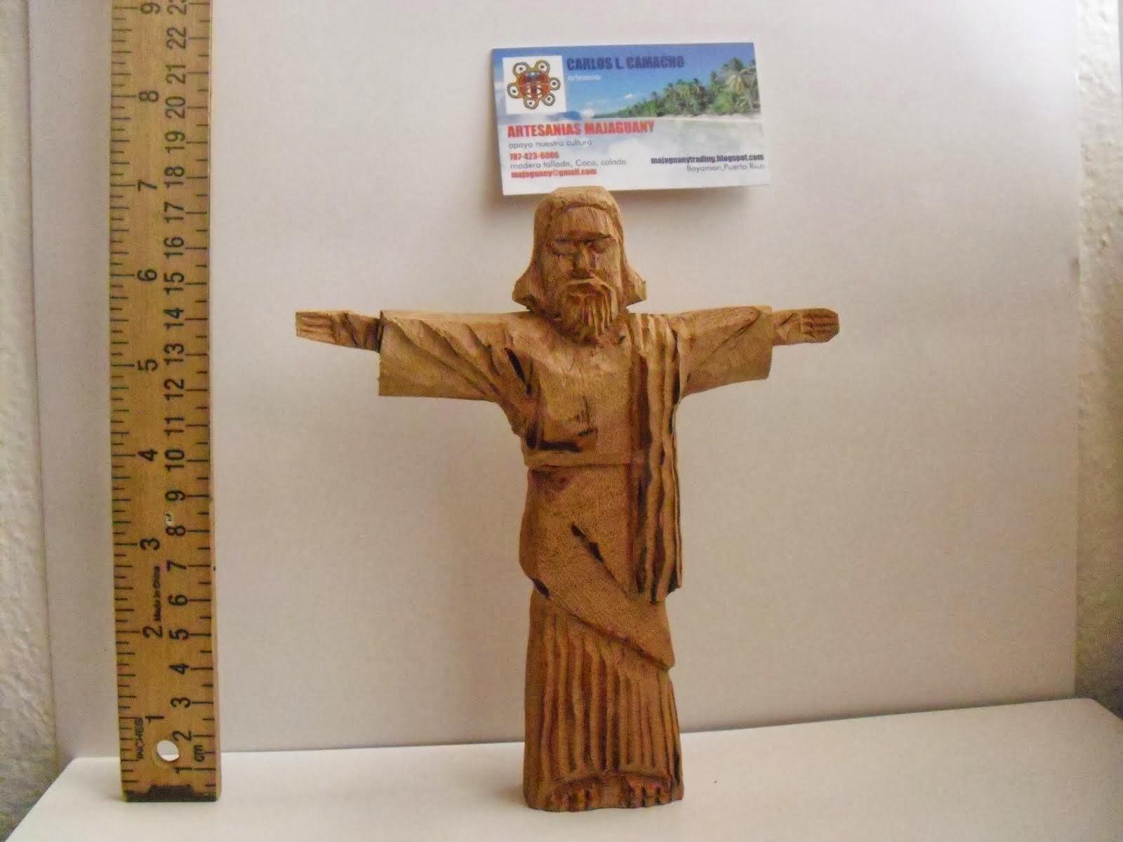 Cristo redentor caoba