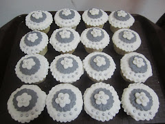 Cup Cake Foundant Set Hantaran