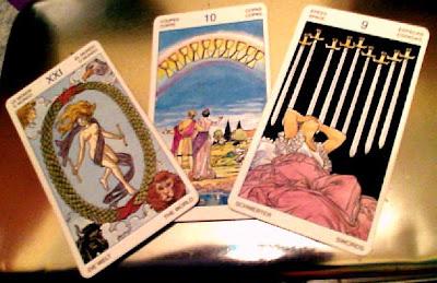 Tirada de 3 cartas para Virgo Diciembre 2012