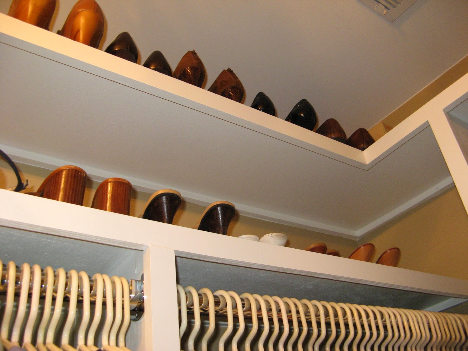 14 Closet Organizing Tips - EXTRA SHELVES